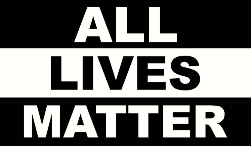 ALL LIVES MATTER EVERYONE DECALS WINDOW LAPTOP VINYL AUTO DECAL STICKER STICKERS