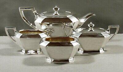 Gorham Sterling Tea Set 1962 FAIRFAX