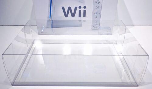 1 Clear Console Box Protector NINTENDO Wii Console Box  Original Size!   Read!