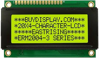 3.3v Small Size 20x4 Character Lcd Module Display Wtutorialhd44780 Controller