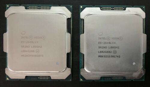 Lot 2 Intel Xeon E5-2648L v4 1.8 GHz 35MB 9.6 GT/s 14 Core SR2ND