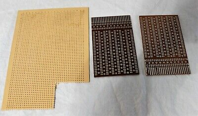 3pcs Solder Finished Prototype Paper Pcb For Diy Circuit Board Breadboard