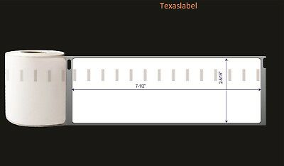 6rolls Dymo Comp. 99019150pcsr Postage Labels 2-516 X 7-12