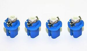 blaue high Power SMD-LED Tacho Beleuchtung Smart Fortwo 450 Coupe Cabrio blau