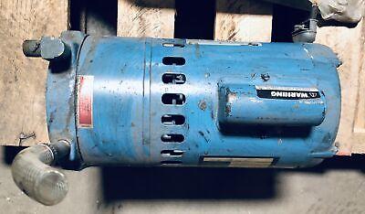 Thomas Vacuum Pump 26 Hg Model Ta-0075-v Pn 991091 Magnetek 12hp Motor