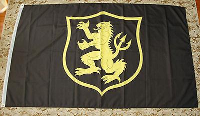 NSWDG Gold Squadron Flag SEAL Team Six DEVGRU Gold Team Knights GK ST6