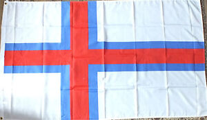 Faroe-Islands-5x3-Flag-Viking-History-Fishing-Danish-Danmark-Fer-erne-Faroese
