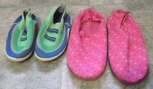 Girls Water Shoes Size 3/4 and Toddler Size 10