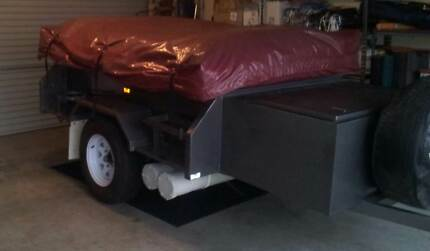 CAMPERTRAILER FOR HIRE ONLY - 2010 X-TRAIL CAMPERTRAILER Mernda Whittlesea Area Preview