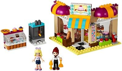 LEGO Friends 41006 Downtown Bakery 100% Complete w/ Manual & Minifigures