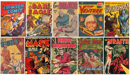 Wanted: OLD AUSTRALIAN COMICS