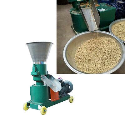 Techtongda 220v 5mm Animal Chicken Duck Feed Pellet Mill Machine Farm Household