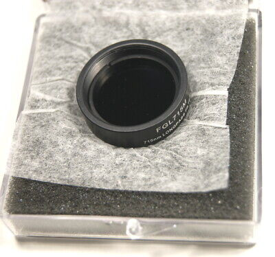 Thorlabs Mounted Sm-1 Thread 715nm Lonpass Filter Fgl715m