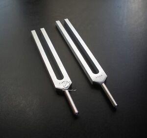 Mosescode Stimmgabel Set Moses Code Stimmgabeln  tuning forks diapasons