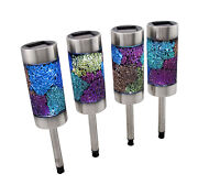 Crackle Glass Solar Lights