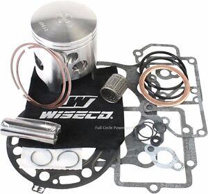 Wiseco Top End Piston Gaskets Rebuild Kit 93-01 Kawasaki KX250 2-Stroke PK1288