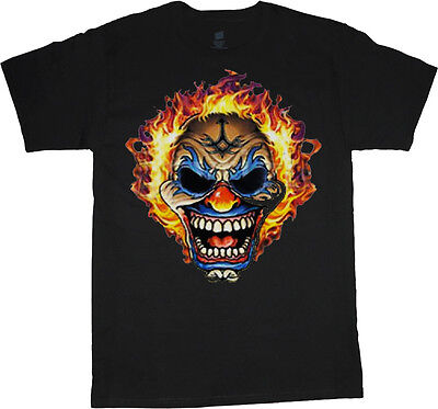 big and tall shirts for men scary clown decal tee shirt halloween clowns costume