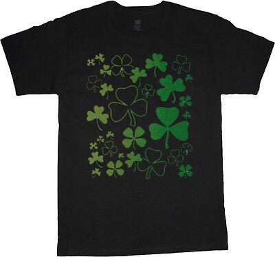big and tall t-shirt lucky shamrocks st patricks day tee shirt tall shirt