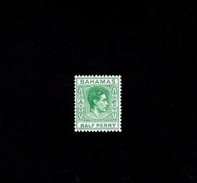 BAHAMAS - 1938 - KG VI - KING GEORGE - PROFILE - # 100  SCAN C - MINT NH -