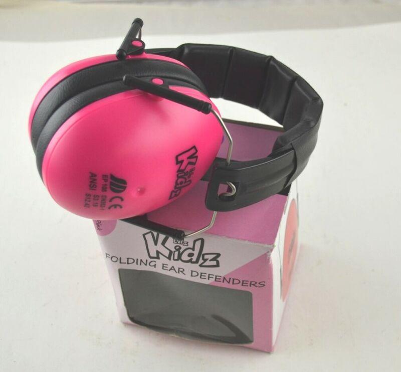 Edz Kidz - Kids Folding Ear Defenders - Pink