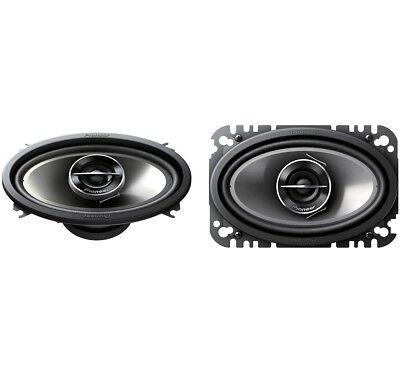 Pioneer Ts G4644r 4X6  400W 2 Way Full Range Car Audio Stereo Speakers Set