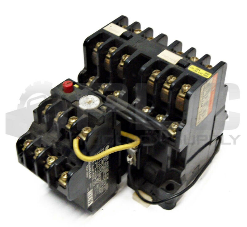 HITACHI H10B-R CONTACTOR, COIL 100V 50Hz/100-110V 60Hz, & THERMAL OVERLOAD RELAY