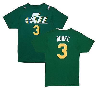 NBA T-Shirt Utah Jazz Trey Burke 3 Basketball Trikot Jersey grün