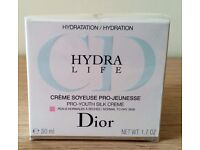 Dior Hydra Life Pro Youth Silk Creme - Normal to dry Skin - 50ml - Brand New
