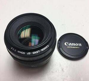 Canon EF 50mm f1.4 auto focus lens like new with 90 days warranty