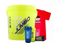 Scitec Jumbo 5500g Free T Shirt Compartment Shaker | Daddy Supplements