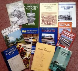 14 x VINTAGE RAILWAY BOOKS ALL LISTED ALL CLEAN