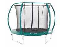 8ft Skyhigh Orbisphere Trampoline, Enclosure and Anchor Kit