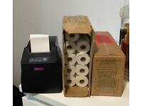 Jolimark Thermal Receipt printer and paper