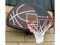 Brand New Bee-Ball ZY-015 Full Size Backboard and Ring, Assembled for a photo shoot