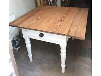 Pitch pine farmhouse table
