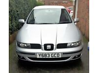 Grey 2001 Seat Leon 20V Turbo Cupra