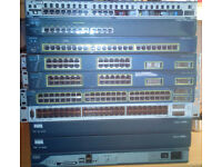 Cisco switches and routers