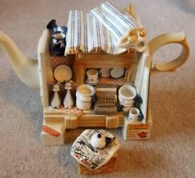 Cardew Design China Stall Teapot