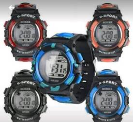 Brand new water resistant digital watches