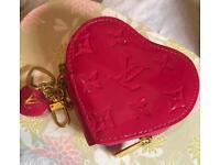 Brand new pink Louis Vuitton purse / handbag charm