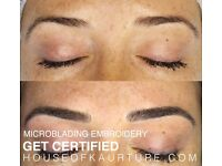 Microblading / Eyelash Extension / Chemical Peel / HD Brow & Threading Courses Available