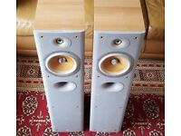 B&W DM602.5 S3 Floor standing Speakers - works but needs attention