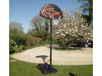 Brand New Bee-Ball Pro Bound Full Size Basketball Stand, Assembled for a Photo shoot