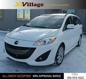 2015 Mazda Mazda5 GT Bluetooth, Power Sunroof, Leather Interi...