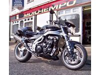 2003 TRIUMPH SPEED TRIPLE 955i with ONLY 11300 MILES