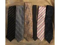 Men's Ties - Excellent Condition