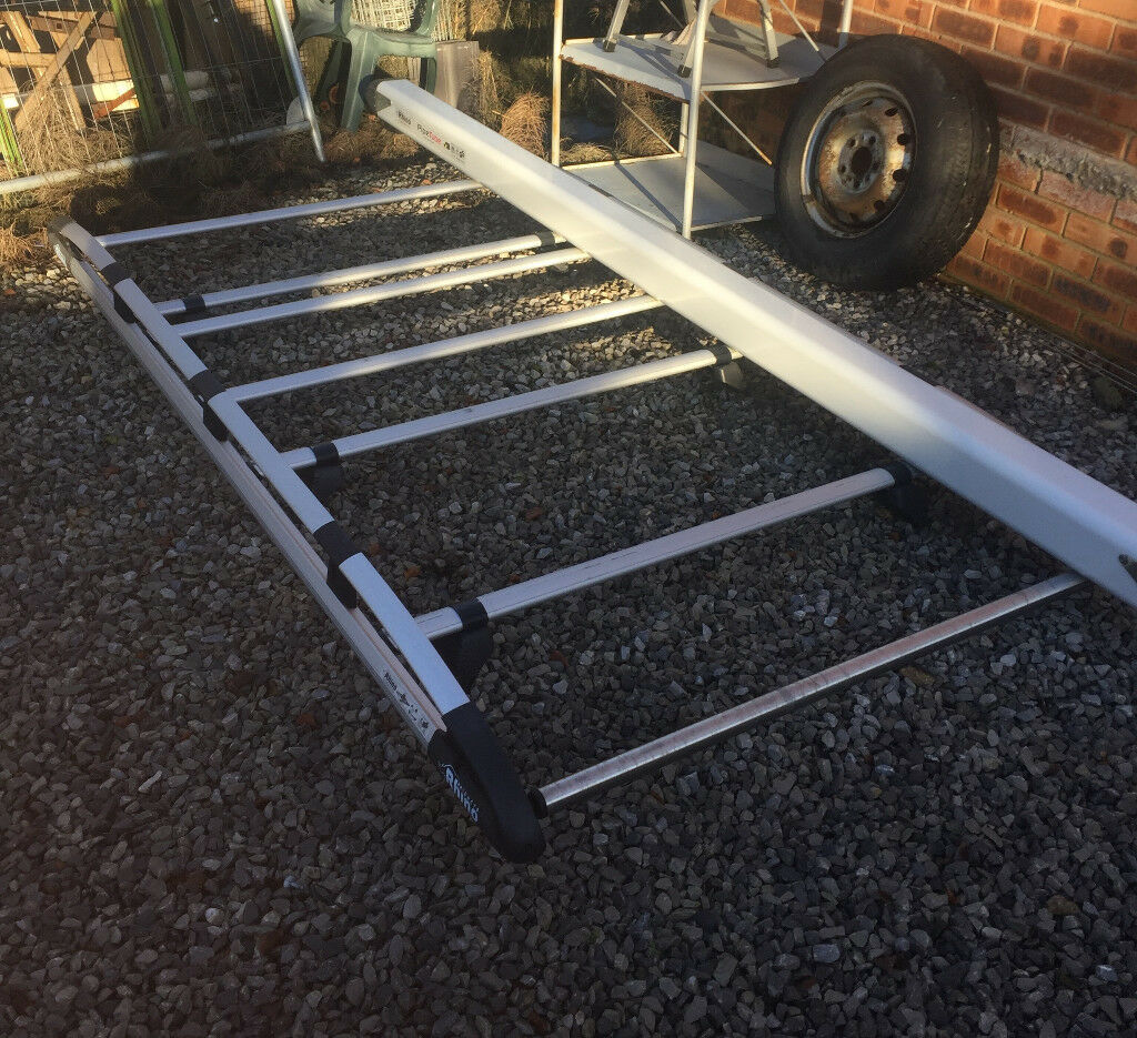 Ford Transit Connect Rhino Alloy Full Length Roof Rack