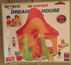 Brand New Boxed Dream House Soft Kit Toy 80 Piece Set