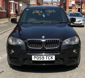 BMW X5 M Sport, Black,Sat Nav, Rear view camera, 104k miles, XDrive