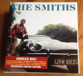 The Smiths CD Singles Limited Edition Box Set